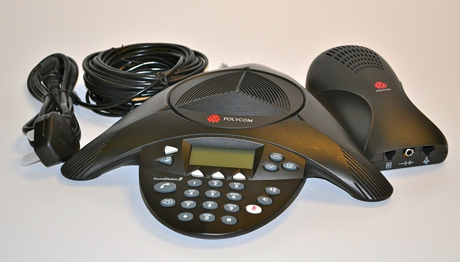 Polycom SoundStation 2(non-expandable & with display ...