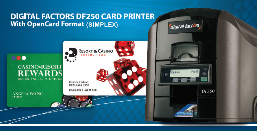 DF250 ID Card Printer Image