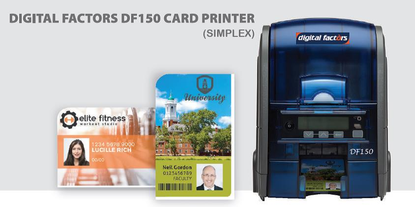 DF150 ID Card Printer Image