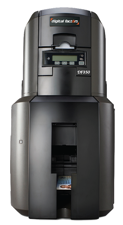 DF350 LM Card Printer Image